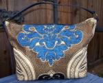 Fair trade hand-sewn shoulder bag from Morocco