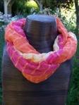 Loose-weave summer scarf