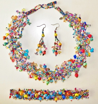 fair trade jewelry, Mayan beading, Guatemalan beaded jewelry