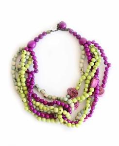 fair trade necklace, rainforest jewelry