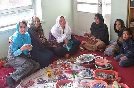 One World Afghan women
